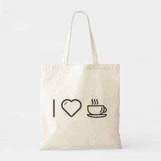 Refroidissez la tasse sac en toile budget