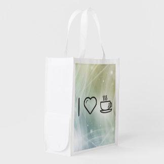 Refroidissez la tasse sacs d'épicerie réutilisables