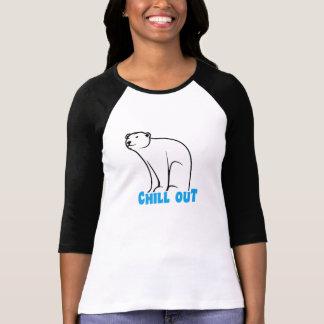 Refroidissez l'ours blanc t-shirt