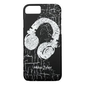 refroidissez pour le disc-jockey - un écouteur de coque iPhone 7