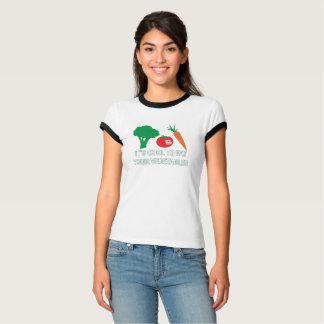 Refroidissez pour manger le T-shirt de vos femmes
