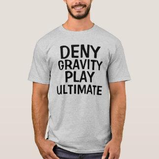 Refusez à jeu de gravité le T-shirt final de