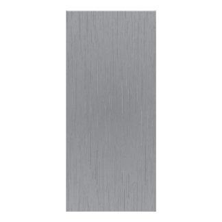 Regard argenté en métal modèle de carte double