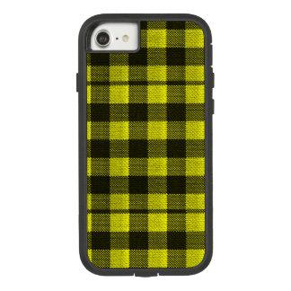 Regard Checkered de toile de jute de motif de Coque Case-Mate Tough Extreme iPhone 7