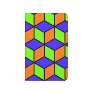 Regard de cube en R Carnet De Poche
