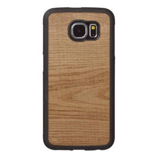 Regard de grain en bois de chêne coque de téléphone en bois