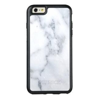 Regard de marbre blanc chic coque OtterBox iPhone 6 et 6s plus