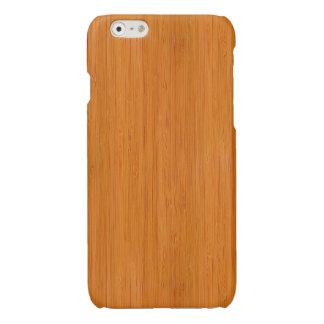 Regard du bois en bambou ambre de grain