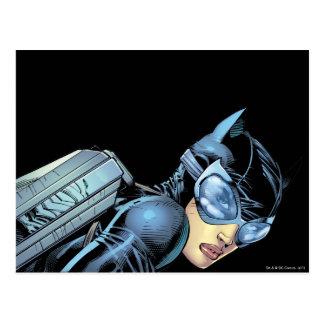 Regard fixe de Catwoman Carte Postale