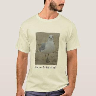 Regard fixe de mouette t-shirt