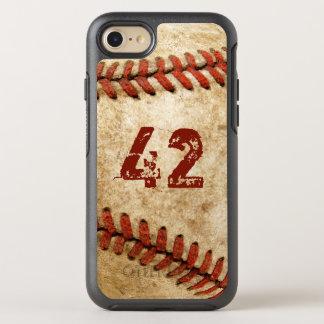 Regard grunge de base-ball vintage avec votre coque otterbox symmetry pour iPhone 7