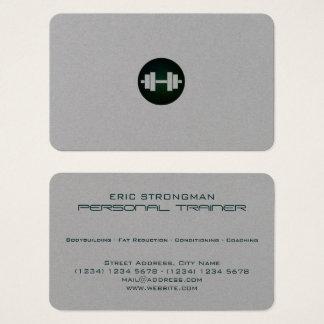 Regard minimal élégant moderne de style cartes de visite