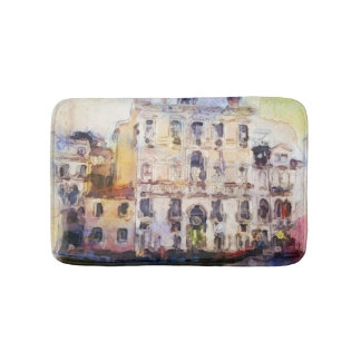 Regarde OD Venise faite dans l'aquarelle Tapis De Bain