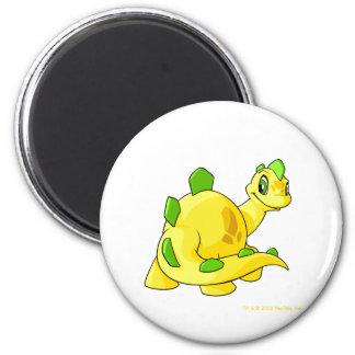 Regarder Chomby jaune Magnet Rond 8 Cm