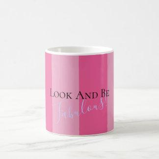 Regardez et soyez tasse fabuleuse de cadeau de