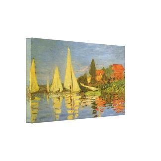 Régate à Argenteuil par Claude Monet Toiles