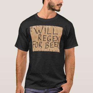 REGEX POUR le T-shirt de noir de BIÈRE