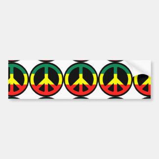 Reggae Autocollant Pour Voiture
