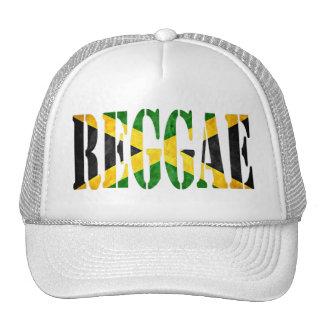reggae avec le drapeau de la Jamaïque Casquette De Camionneur