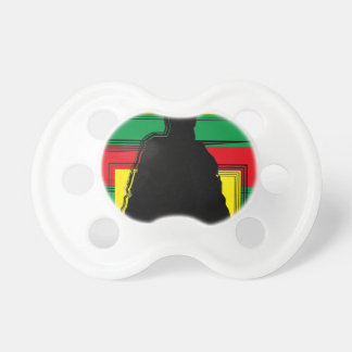 Reggae bobo art tétines