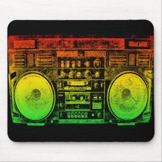 Reggae Boombox Tapis De Souris