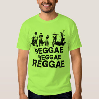 REGGAE DE REGGAE DE REGGAE T-SHIRTS
