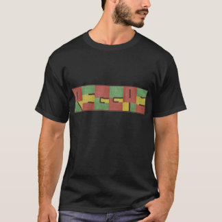 Reggae en toile de jute t-shirt