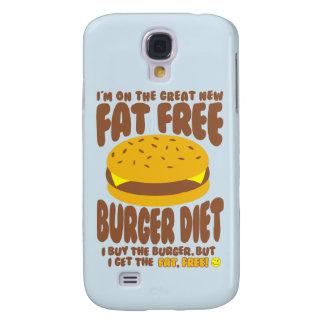 Régime non gras d'hamburger coque galaxy s4