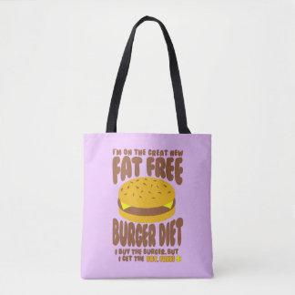 Régime non gras d'hamburger sac