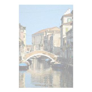 Région célèbre, Venise, Italie Papier À Lettre Customisable