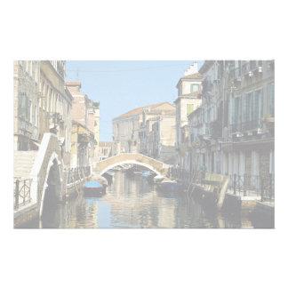 Région célèbre, Venise, Italie Papier À Lettre Personnalisable