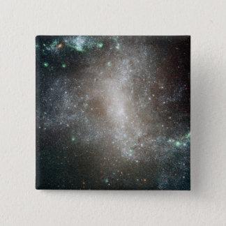 Région Centre de la galaxie spirale barrée Pin's
