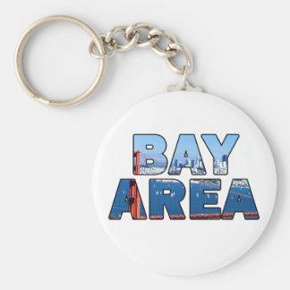Région de Baie de San Franciso 015 Porte-clé Rond