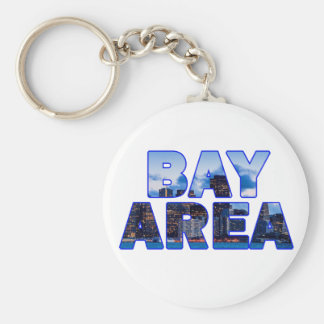 Région de Baie de San Franciso 016 Porte-clé Rond