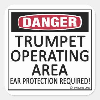 Région d'opération de trompette