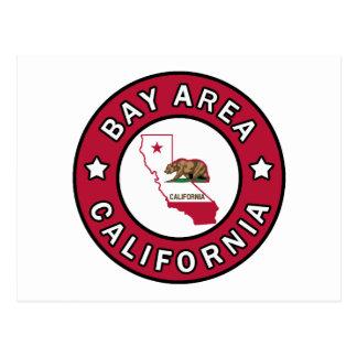 Région la Californie de baie Carte Postale