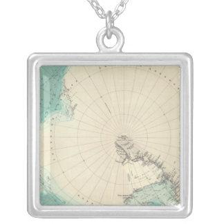 Régions polaires du sud pendentif carré
