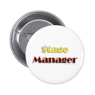 Régisseur (texte seulement) badge rond 5 cm