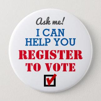 Registre au vote ! Bouton Badges