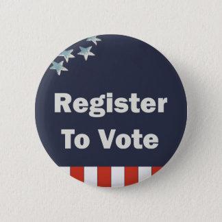 Registre patriotique au vote pin's