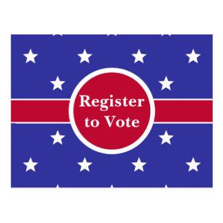 Registre personnalisable pour voter des cartes