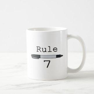 Règle 7 (logo) mug