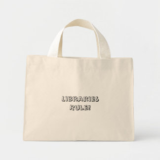 Règle de bibliothèques ! Sac fourre - tout