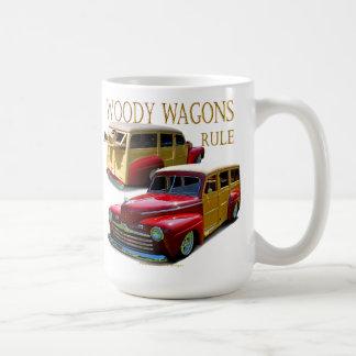 Règle de chariots de Woody Mug