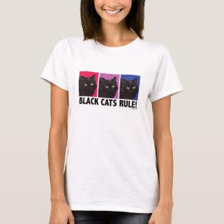 RÈGLE de chats noirs ! Pièce en t adaptée par T-shirt