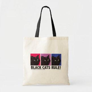 RÈGLE de chats noirs ! Sac fourre-tout