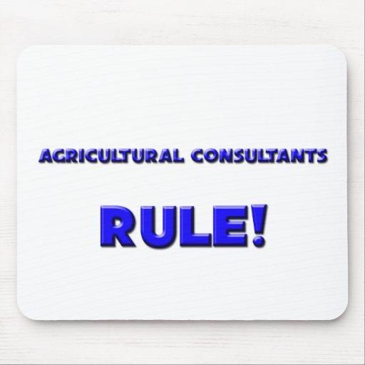 Règle de conseillers agricoles ! tapis de souris