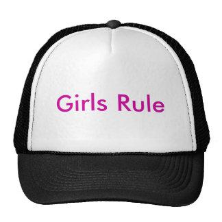 Règle de filles casquette de camionneur