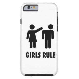 Règle de filles coque iPhone 6 tough