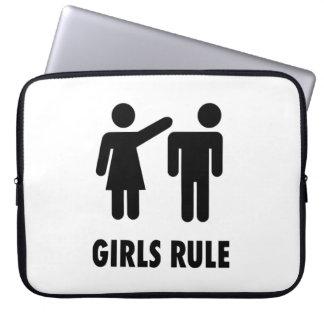 Règle de filles trousses pour ordinateur portable